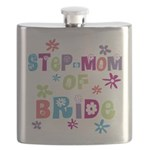 Step-Mom of Bride Flask