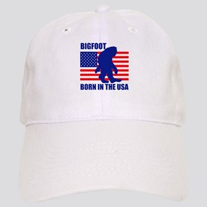 Bigfoot born in USA Cap