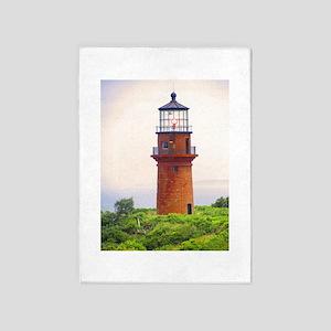 gay head lighthouse 5'x7'Area Rug