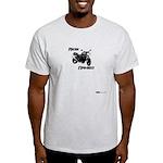 Ride Naked / Naked Streetbike Ash Grey T-Shirt