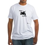 Ride Naked / Naked Streetbike Fitted T-Shirt
