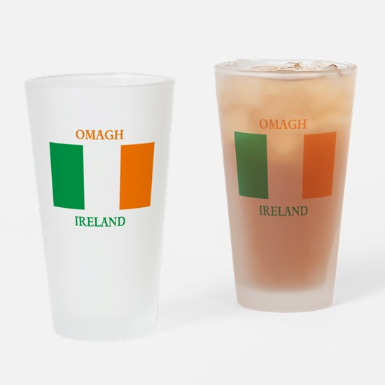 Omagh Ireland Drinking Glass