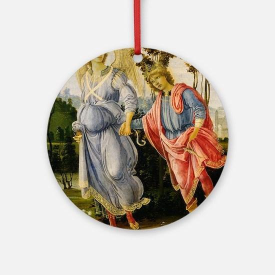 Filippino Lippi - Tobias and the Angel Ornament (R
