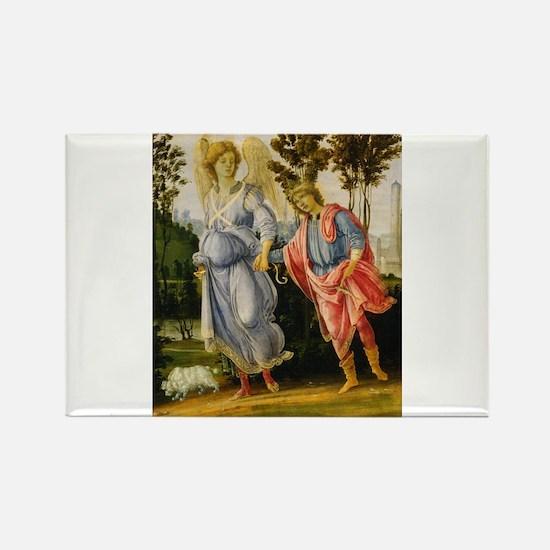 Filippino Lippi - Tobias and the Angel Rectangle M