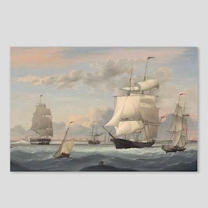 Fitz Henry Lane - New York Harbor Postcards (Packa