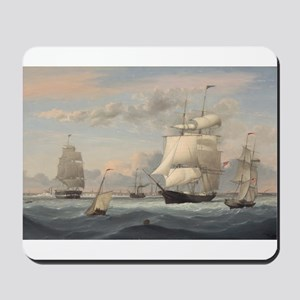 Fitz Henry Lane - New York Harbor Mousepad