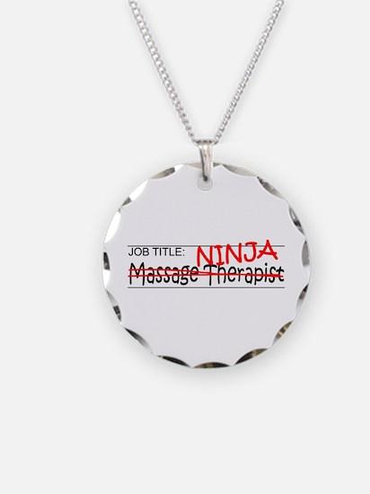 Job Ninja Massage Therapist Necklace