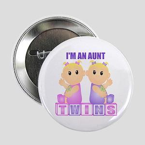 I'm An Aunt (BGG:blk) Button