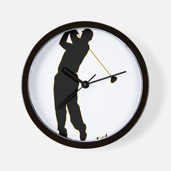 Golf Wall Clock