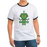 Bold Green Robot T-Shirt