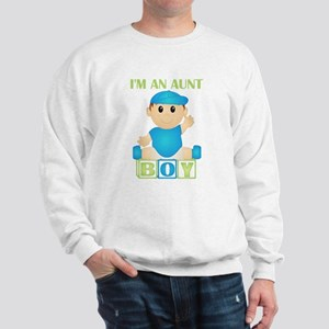 I'm An Aunt (PB:blk) Sweatshirt