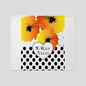 xray tech 2 Throw Blanket