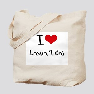 I Love LAWA'I KAI Tote Bag