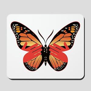 Butterfly Monarch w/ Hands Mousepad