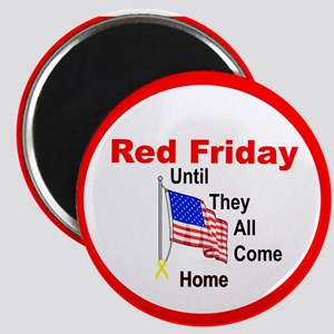 Red Friday (yellow ribbon) Magnet