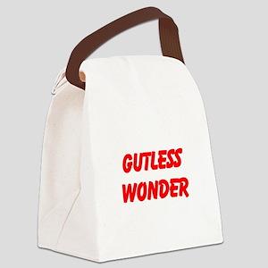 gutless wonder Canvas Lunch Bag
