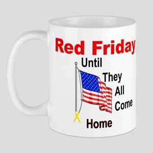 Red Friday (yellow ribbon) Mug