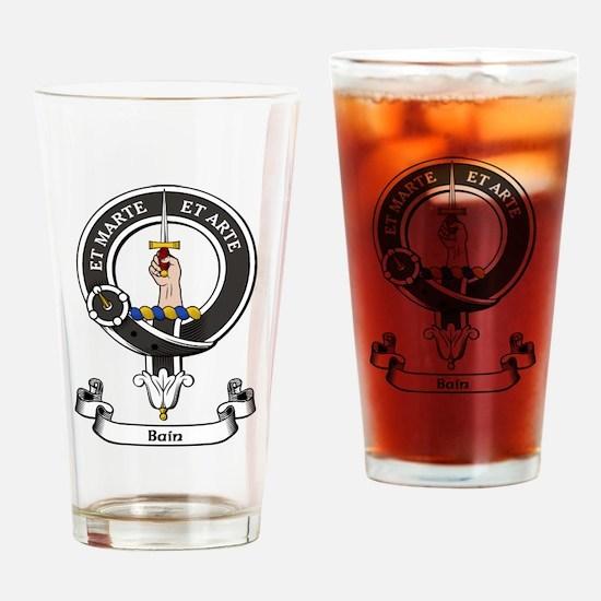 Badge-Bain [Aberdeen] Drinking Glass