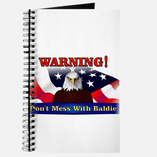 Don't mess with baldie! Journal