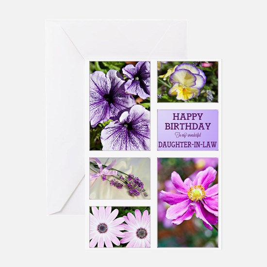 Daughter-in-law birthday card Greeting Card