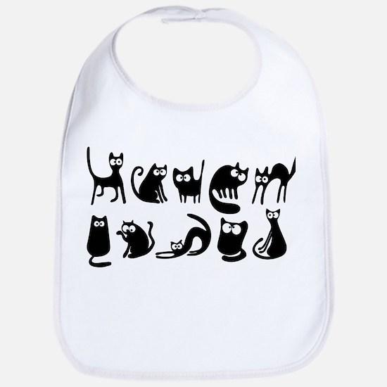 Cute cats Bib