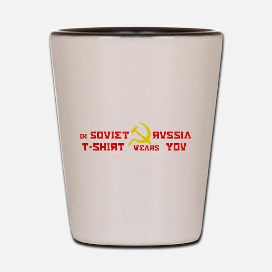 Soviet Russia Shot Glass