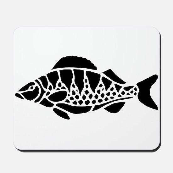 Black Fish Mousepad