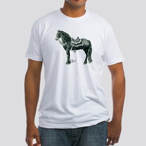 """""""Medieval Friesian"""" Fitted T-shirt"""