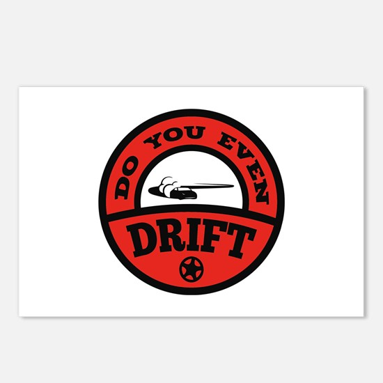 Do You Even Drift? Postcards (Package of 8)