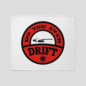Do You Even Drift? Stadium Blanket