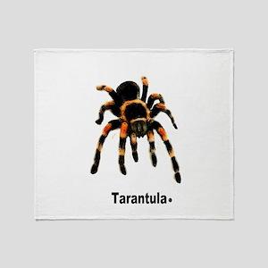 tarantula Throw Blanket