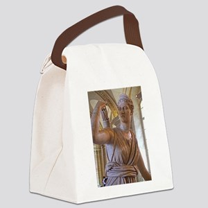 Artemis at the louvre Canvas Lunch Bag