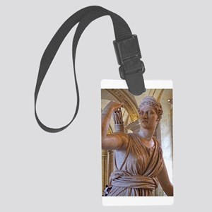 Artemis at the louvre Luggage Tag