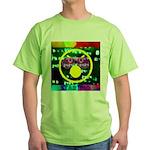 Star Pig Disco Graphic Green T-Shirt