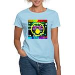 Star Pig Disco Graphic Women's Light T-Shirt