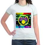 Star Pig Disco Graphic Jr. Ringer T-Shirt