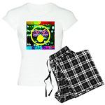 Star Pig Disco Graphic Women's Light Pajamas