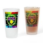 Star Pig Disco Graphic Drinking Glass