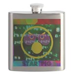 Star Pig Disco Graphic Flask