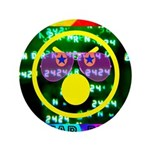 """Star Pig Disco Graphic 3.5"""" Button (100 pack)"""