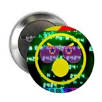 """Star Pig Disco Graphic 2.25"""" Button (10 pack)"""