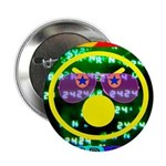 """Star Pig Disco Graphic 2.25"""" Button (100 pack"""