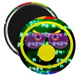 """Star Pig Disco Graphic 2.25"""" Magnet (100 pack"""