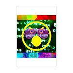 Star Pig Disco Graphic Mini Poster Print