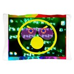Star Pig Disco Graphic Pillow Case