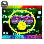 Star Pig Disco Graphic Puzzle