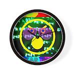 Star Pig Disco Graphic Wall Clock