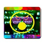 Star Pig Disco Graphic Mousepad