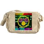 Star Pig Disco Graphic Messenger Bag