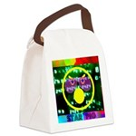 Star Pig Disco Graphic Canvas Lunch Bag